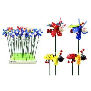 Wooden Insect Garden Pick